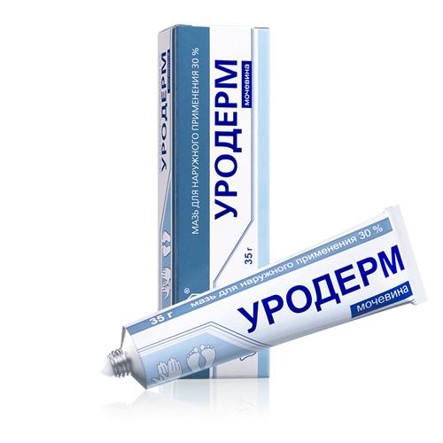 Уродерм мазь д/наружн пр 30% 35г N1 туба ПК