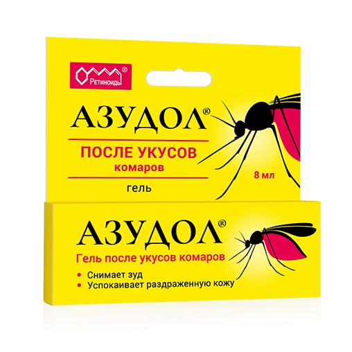Азудол гель 8 мл от комаров
